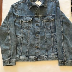 5e9db8a73 Men's Young Thug Denim Jacket New With Tag XL NWT